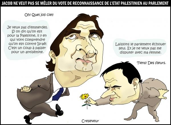 Jacob ne reconnaît pas la Palestine.JPG