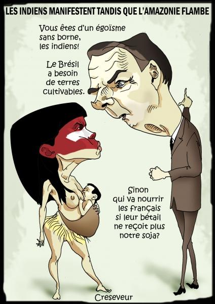 Bolsonaro flambe l'Amazonie.JPG