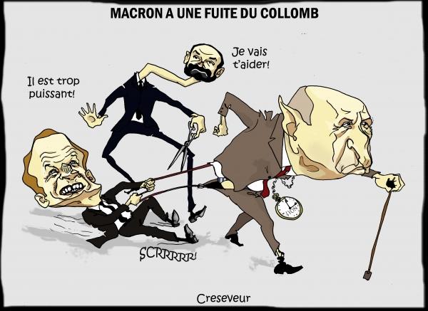 Macron perd son Collomb.JPG