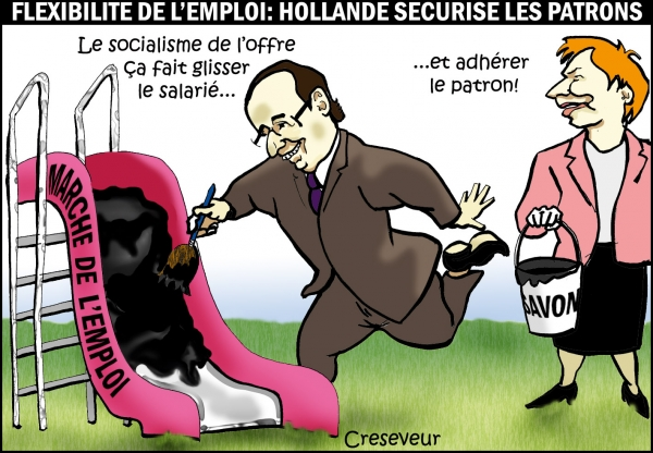 Hollande flexisécurise le patronat.jpg