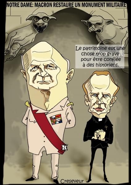 Macron nomme le Général Georgelin pour la restauration de NDDP.jpg