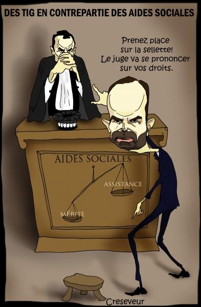Philippe veut des contreparties aux aides sociales.JPG