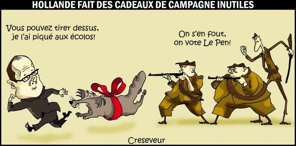 Hollande le loup les chasseurs et la campagne.jpg
