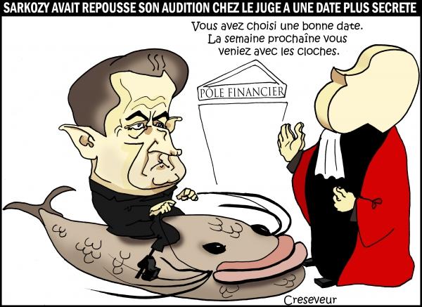 sarkozy,juge van ruymbeke,dépassement des frais de campagne,présidentielles 2012,poisson d'avril,dessin de presse,caricature