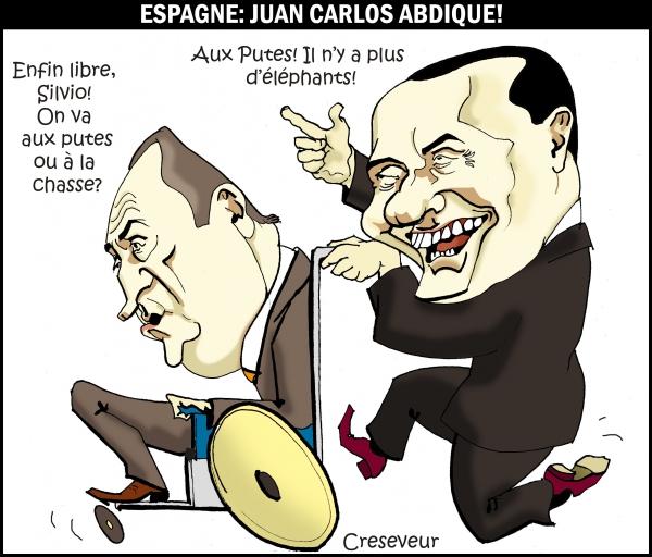 Juan Carlos abdique .JPG