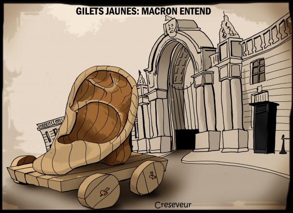 Macron entend les gilets jaunes.JPG