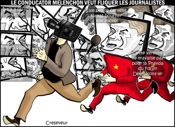Mélenchon chasse les journalistes .jpg