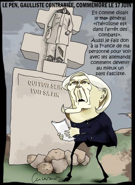 Le Pen hommage à De Gaulle foireux.JPG