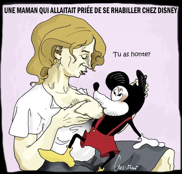 Disney s'oppose à un allaitement en public.JPG