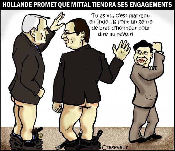 Hollande reçoit Mittal .jpg