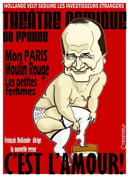 Hollande veut séduire les investisseurs étrangers .jpg