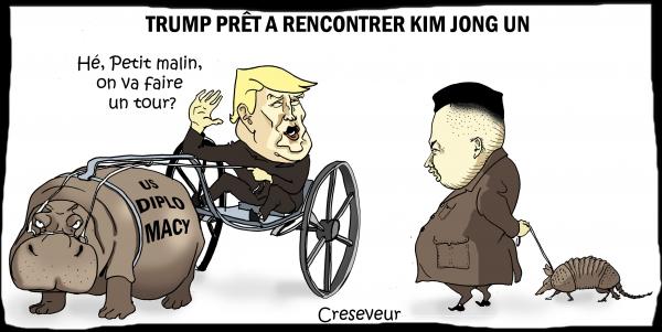 Trump change son fusil d'épaule face à la Corée du Nord.JPG