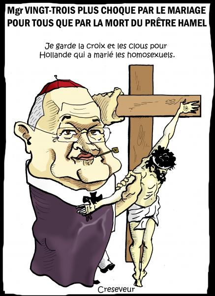 Mgr XXIII rend un hommage déviant au prêtre Hamel.jpg