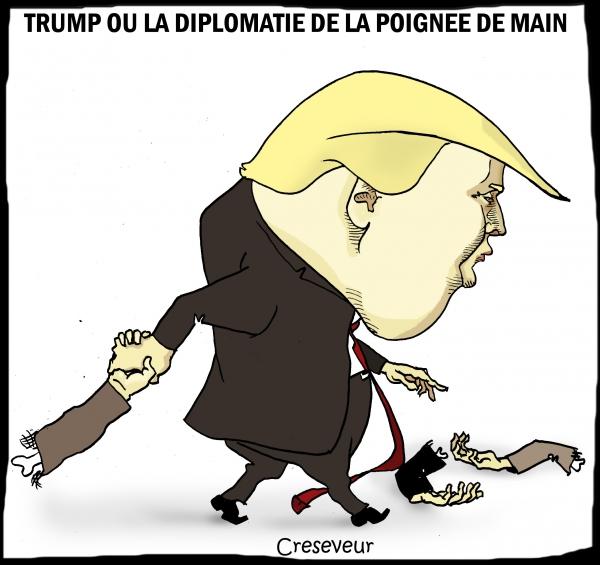Trump ou la diplomatie de la poignée de main.jpg