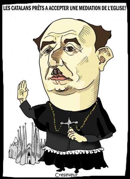 Les catalans prêts à une médiation de l'église.JPG