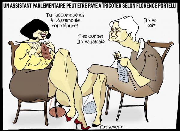 Portelli défend l'emploi fictif de Fillon.JPG