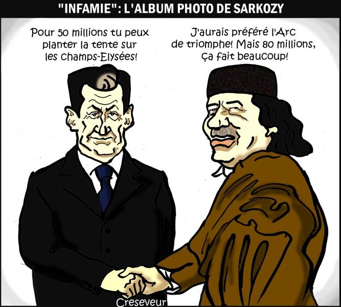 """Infamie"": l'album photo de Sarkozy"
