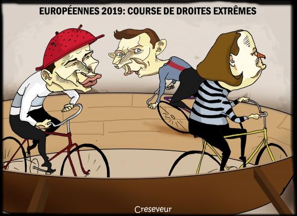 Européennes avec 3 partis de droite qui ne n'emballent pas les foules.jpg
