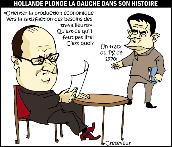 Hollande provoque le PC.JPG
