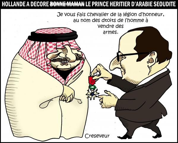 Hollande découre le prince d'arabie séoudite.JPG