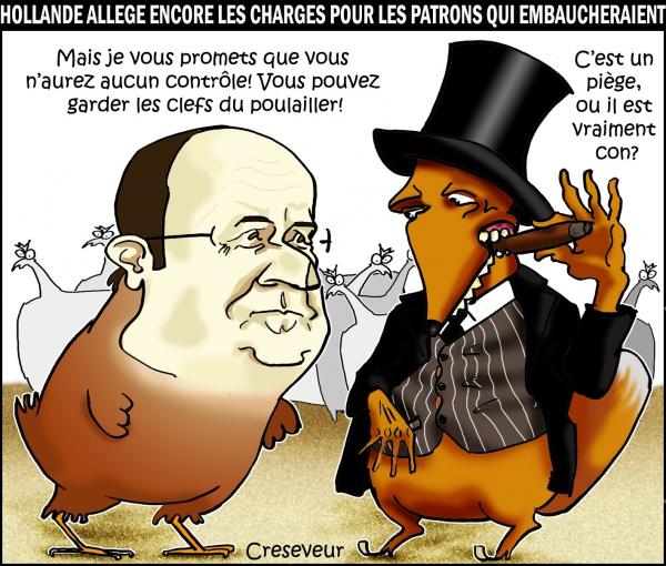 Hollande donne moins de contraintes aux patrons.JPG