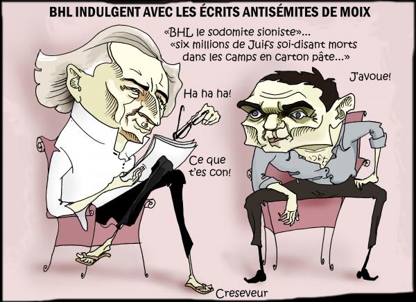 Bhl pardonne son antisémitisme à Moix.JPG