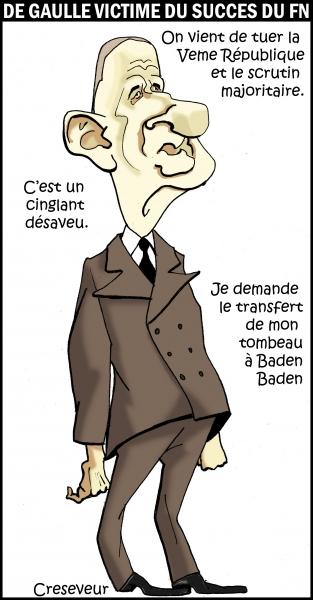 De Gaulle tire les conséquences du vote aux européennes .JPG
