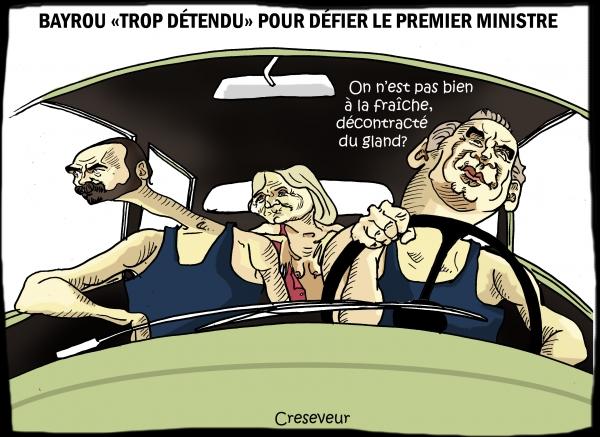 Bayrou indifférent au rappel à l'ordre de Philippe.JPG