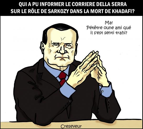 Berlusconi et la mort de Khadafi.jpg