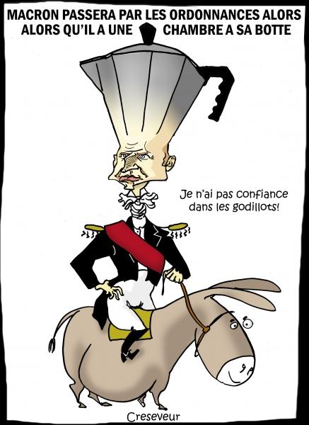 Macron passera sa loi travail par ordonnances.JPG