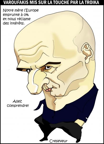 Varoufakis mis sur la touche.jpg
