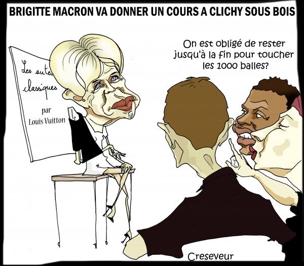Brigitte Macron va donner des cours à Clichy sous bois.jpg