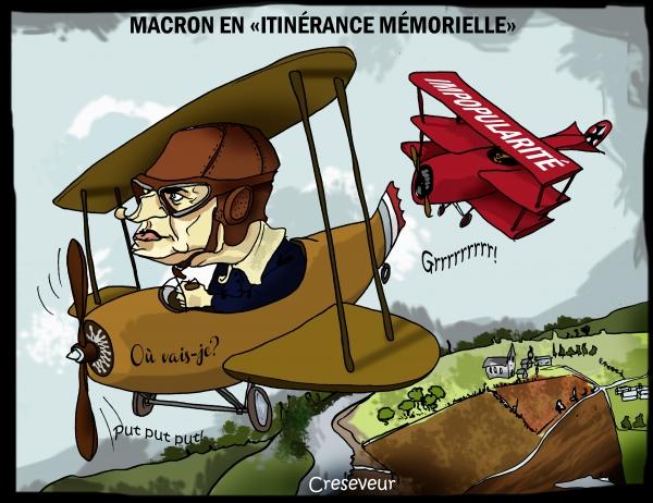 Macron dans l'itinérance mémorielle.JPG