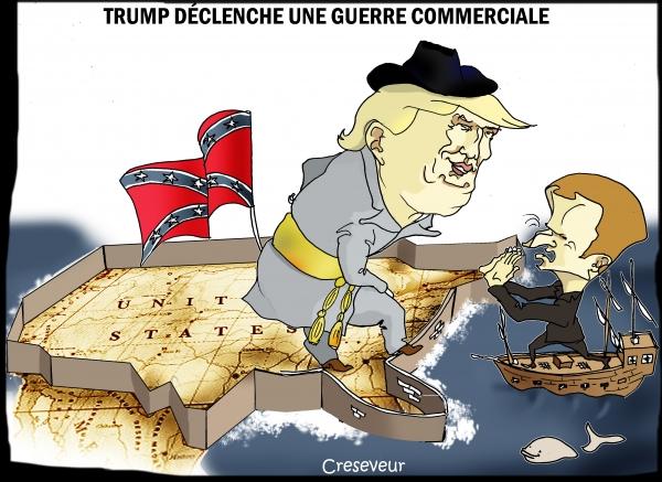 Trump déclenche la guerre commerciale.JPG