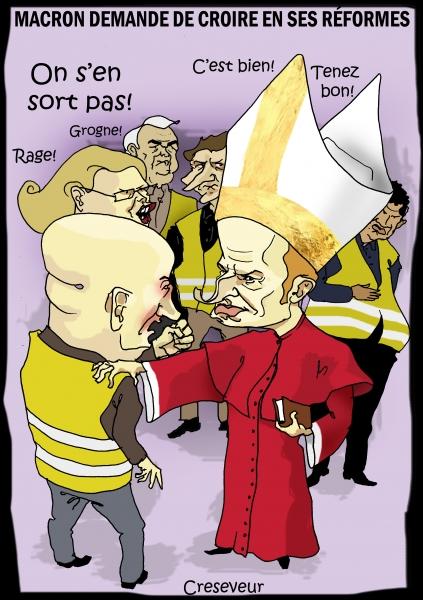 Macron comprend les gilets jaunes.JPG