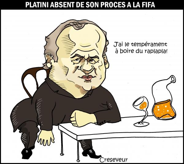 Platini absent de son procès.JPG