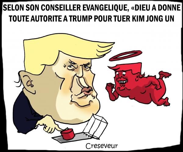 Trump autorisé à tuer par Dieu.JPG