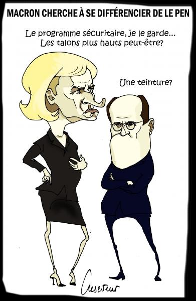 Macron craint qu'on ne le différencie pas de Le Pen.JPG