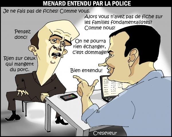 Ménard entendu par la police.JPG