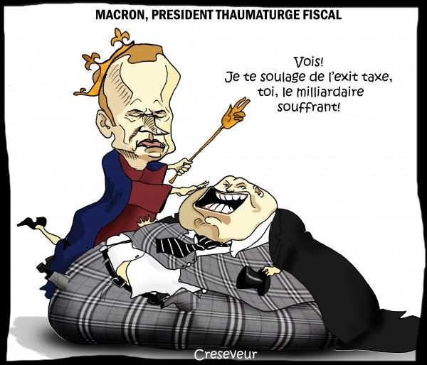 Macron président thaumaturge fiscal.JPG