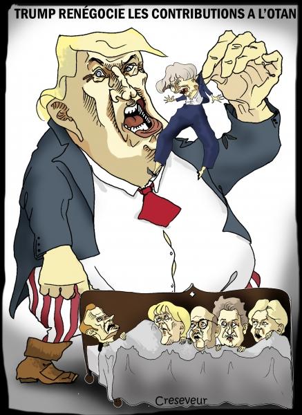 Trump veut monter les contributions à l'Otan.jpg