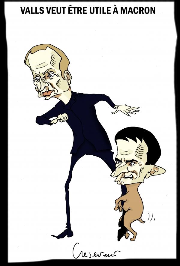 Valls veut être utile à la France.JPG