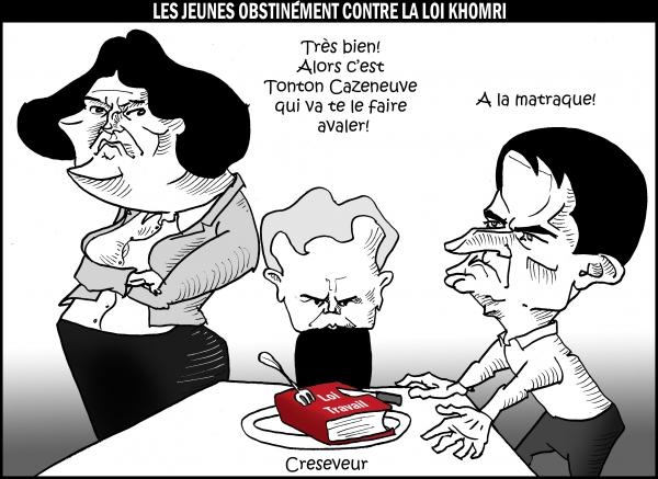 Valls cogne la jeunesse en grève 3.JPG