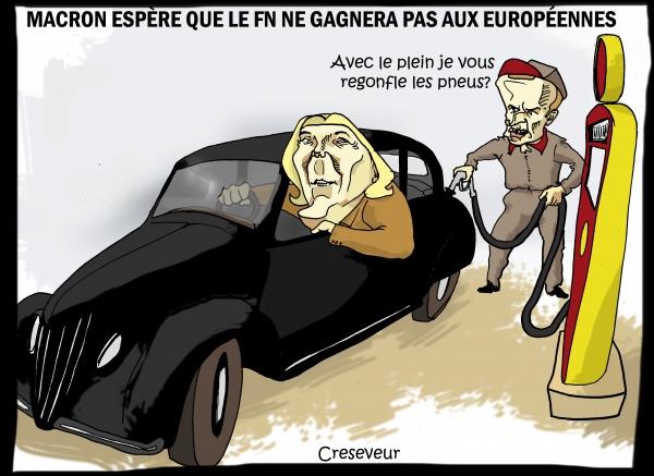Macron espère que le FN ne l'emportera pas aux européennes.JPG