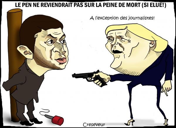 Le Pen ne reviendra pas sur la peine de mort.JPG