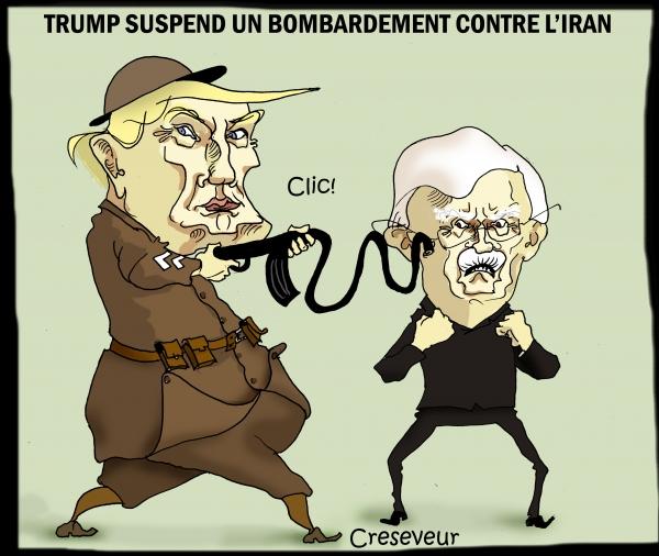 Trump suspend une attaque sur l'Iran.JPG