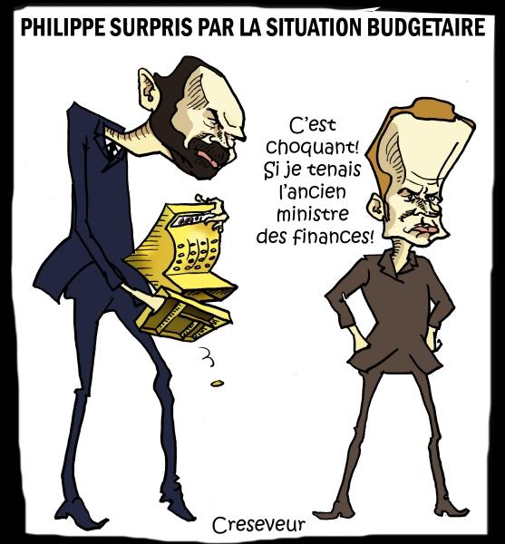 Philippe découvre que les caisses sont vides.JPG