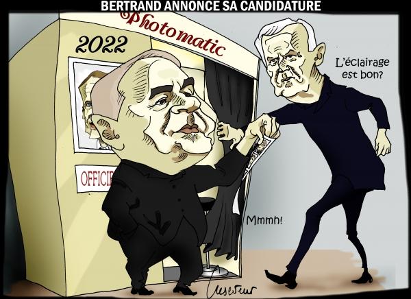 Bertrand annonce sa candidature.JPG