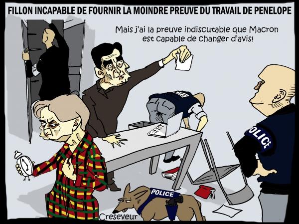 Fillon a des preuves contre Macron.JPG