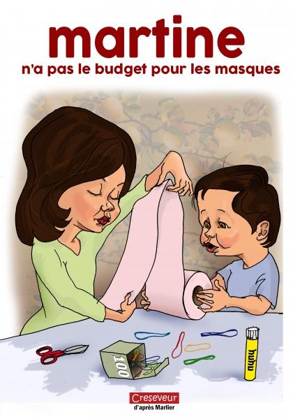 Martine n'a pas le budget pour les masques.JPG